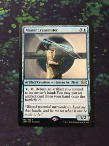 MTG, Master Transmuter. Double Masters Rare NM