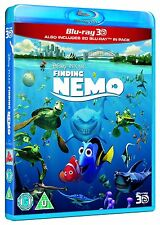 Finding Nemo 3D (3D + 2D Blu-ray, Disney, 2 Discs, Region Free) *New/Sealed*