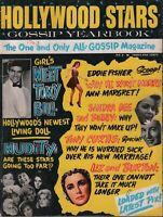 Hollywood Stars Gossip Yearbook 1963 Liz Taylor Eddie Fisher 062819DBE