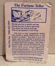 The Fortune Teller Arcade Game Bay-Tek, Inc - Paper Fortune Determination Joy