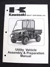 2008 KAWASAKI MULE 3010 DIESEL 4x4 ATV VEHICLE ASSEMBLY PREPARATION MANUAL