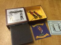 BRITAINS LIMITED EDITION EAST KENT REGIMENT THE BUFFS MARCHING BOXED