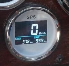 GPS Tachometer Tacho Geschwindigkeitsmesser Digital 52mm integrierte Antenne W