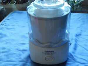 CUISINART ICE-20 FROZEN YOGURT, ICE CREAM & SORBET MAKER