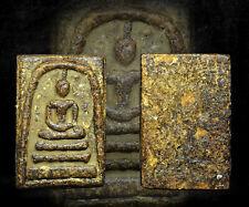 Phra Somdej LP toh Wat Rakang Old Thai Buddha Amulet Pendant Magic Luck Rare .A2