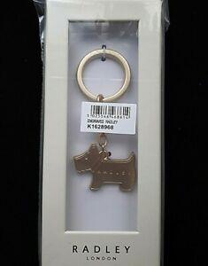RADLEY ENGRAVED DOG KEYRING - PRESENTATION BOX NEW