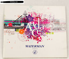 Older small Waterman Catalogue Audace Collection 2007 - 2008