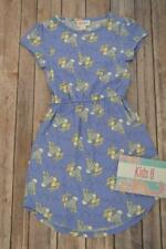 LuLaRoe Disney Kids Size 6 Purple Thumper Bambi Dress - New!