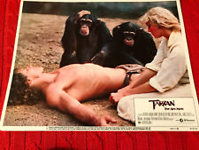 Tarzan The Ape Man 1981 United Artists lobby card Bo Derek Miles O'Keefe