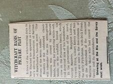 M3-7a ephemera 1941 dagenham article the house of the seven gables g sanders