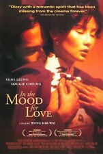 IN THE MOOD FOR LOVE ~ USA 27x40 MOVIE POSTER Wong Kar-Wai Tony Leung Mag Cheung
