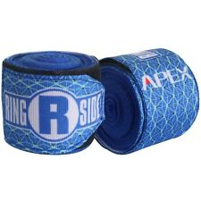 New Ringside Apex Kick Boxing MMA Handwraps Hand Wrap Wraps 180 - Blue