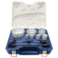 Saber HOLESAW KIT 14Pcs Progressive Tooth, Wear Resistance, Sturdy Storage Case