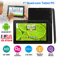"7''9"" Android Tablet PC Quad Core 8GB Dual Camera Wi-Fi Kids Students Tablets"