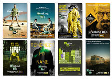 breaking bad season 1 2 3 4 5 amc tv show Postcard Set 8pcs jesse walter white