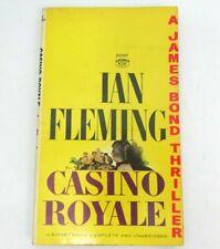 Casino Royale - by Ian Fleming (James Bond Thriller) vintage pb book