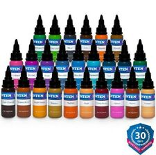 INTENZE Tattoo Ink TOP 25 Basic Collection Color Set Authentic 1/2 oz Bottle Kit