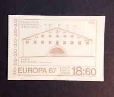 Sweden 1987 VF MNH Sc# 1630a Booklet