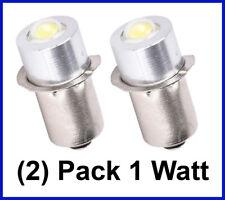 LED 18V Bulb (2 pack) 1W Dewalt Craftsman Ryobi Makita Hitachi Milwaukee P13.5S