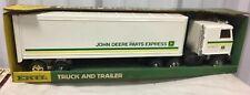 ERTL Semi Truck Tractor Trailer John Deere Parts Express 1/25 NIB