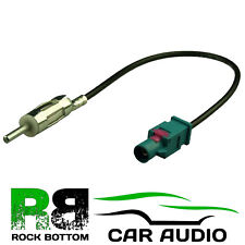 BMW 3 Series E46 1998-06 Car Radio Fakra Aerial Antenna Adaptor Cable AAN2106-2