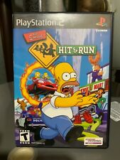 The Simpsons: Hit & Run (PlayStation 2, PS2)  Works Great! No Manual