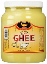 Deep Clarified Butter 100% Cow Ghee - 64 Oz. (4 Lbs)