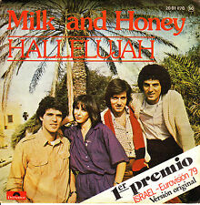 "7"" EUROVISION 1979 MILK AND HONEY hallelujah ISRAEL 45 SINGLE SPANISH"