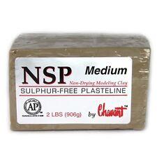 Chavant NSP Medium Tan Sculpting and Modeling Clay (1/4 Case)