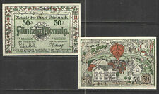 German NOTGELD STEINACH #L1229 Complete Set of 1 UNC  CATALOG VALUE = $10+