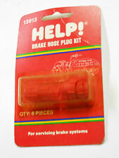 Help Parts 13913 Brake Hose Plug Kit - For Servicing / Bleeding Brakes