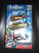 Majorette AVENGERS 3 Pack Vehicles Cars Die Cast Iron Man Hulk Thor Marvel