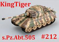 Easy Model 1/72 Germany KingTiger (Henschel turret) Schwere Pz.Abt.505,#36295