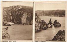 Channel Islands Postcard - Guernsey - Petit Port and Dog & Lion Rocks   ZZ1141