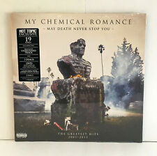 MY CHEMICAL ROMANCE may death... DOUBLE Lp CLEAR SWIRL Vinyl Record +DVD, SEALED