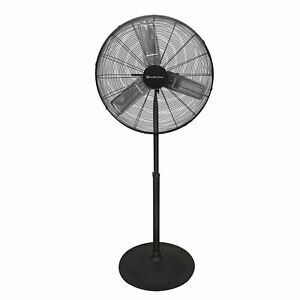 "High-Velocity powerful Industrial electric factory Floor Pedestal Fan 30"" large"