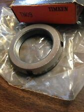 Timken Bearing Locknut TN09 ~ LOT OF 3 ~ NOS