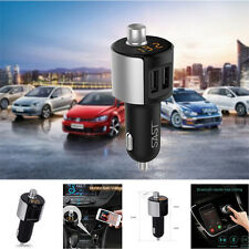 Wireless In-Car Bluetooth Kit FM Transmitters Radio Adapter Hands-Free MP3 USB