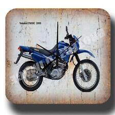 YAMAHA XT600E 1999 RETRO MOTORCYCLE METAL TIN SIGN WALL CLOCK