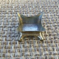 Vintage Tiffany Sterling silver Cellar  Bowl Footed Dip Hammered Finish