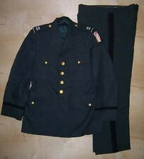 US Army Officers Mens Class A Uniform Jacket  Coat Size 40S & Trousers 34x30