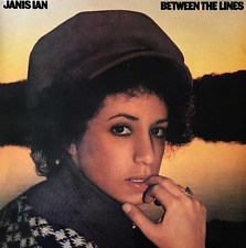JANIS IAN ‎- Between The Lines (LP) (G+/VG)