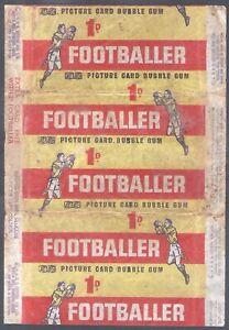 A&BC WRAPPER-FOOTBALL MAKE A PHOTO 1963- (1ST SERIES)