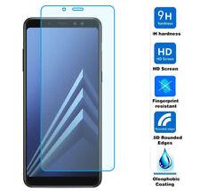 PROTECTOR DE PANTALLA DE CRISTAL TEMPLADO Para Samsung Galaxy A8 2018 calidad AA