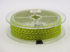 Fly Line Backing, Braided Polyester, Yellow & Black 50yds 20lb Ln405