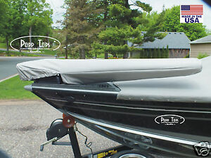 """MotorGuide Trolling Motor Cover  By PoppTops Fits Xi5  w/45"""" Shaft.  GRAY"""