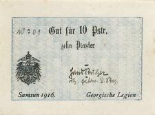 Ro.485b 10 Piaster 1916 (1) Georgische Legion