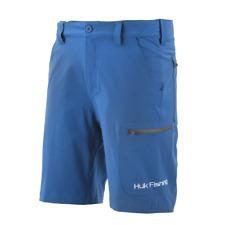 "Huk Next Level 10.5"" Dark Blue Shorts Sz XXL NWT Ret. $60 Riverside 2X Fishing"