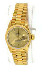 Rolex Oyster Perpetual Datejust 18K Yellow Gold Watch 6917