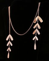 Emporio Armani Halskette EGS2582221 edelstahl farbe Rosegold  neu